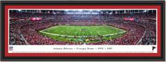 Atlanta Falcons Last Regular Season Game at Georgia Dome Panoramic Framed Picture