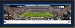 Chicago Bears Soldier Field Night Game Framed Panoramic Picture