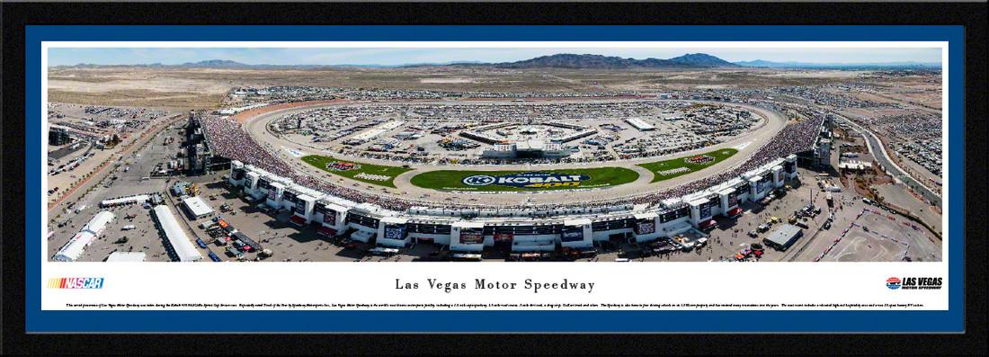 Las Vegas Motor Speedway Panorama Aerial Picture