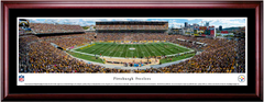 Pittsburgh Steelers Heinz Field Framed Panoramic Picture Single Matting and Cherry Frame