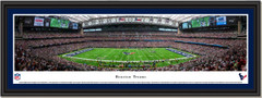 Houston Texans NRG Stadium Framed Panoramic Picture
