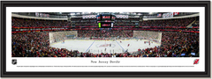New Jersey Devils Prudential Center Framed Panoramic Picture
