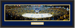 Nashville Predators Bridgestone Arena - Stanley Cup Playoffs Framed Panoramic Picture