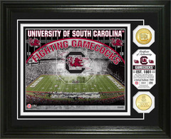 University of South Carolina Williams-Brice Stadium Bronze Coin Photo Mint