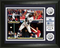 Didi Gregorius 2017 ALDS Silver Coin Photo Mint