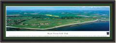 Royal Troon Golf Club Framed Panoramic Picture
