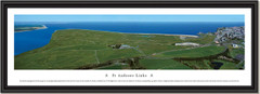 St Andrews Links Golf Aerial Framed Panoramic Picture