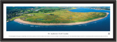 St Andrews Links Inland Golf Aerial Framed Panoramic Picture