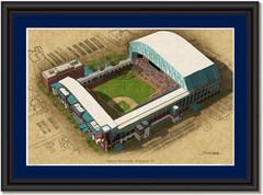 Minute Maid Park Large Illustration - Home of Houston Astros