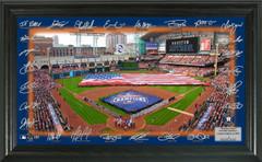 Houston Astros 2018 Signature Field