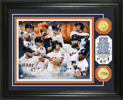 Houston Astros Team Force Bronze Coin Photo Mint