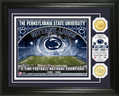 Penn State University Bronze Coin Photo Mint