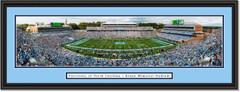 North Carolina Tar Heels Football  Kenan Memorial Stadium Framed Panoramic Picture