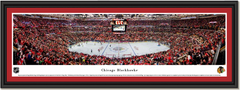 Chicago Blackhawks United Center Framed Panoramic Picture