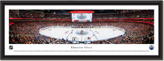Edmonton Oilers Panoramic NHL Rogers Place Framed Panoramic Picture