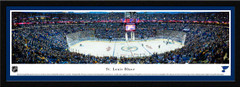 St. Louis Blues Scottrade Center Framed Panoramic Picture