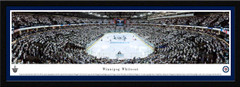 Winnipeg Jets Whiteout Framed Panoramic Picure
