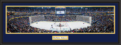Buffalo Sabres KeyBank Center Framed Panoramic Picture