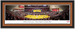 Indiana Hoosiers Basketball Simon Skjodt Assembly Hall Framed Panoramic Picture