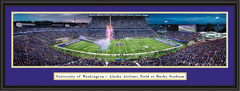 Washington Huskies Football Husky Stadium Framed  Panoramic Picture