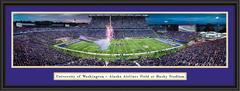 Washington Huskies Football Husky Stadium Framed  Panoramic Picture