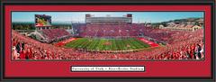 Utah Utes Football Rice-Eccles Stadium Framed Panoramic Picture