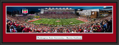 Washington State Cougars Football Martin Stadium Framed Panoramic Picture