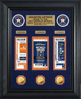 "Houston Astros 2017 AL Champions ""Road to the World Series"" Deluxe Gold Coin & Ticket Collection"