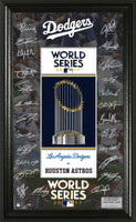Los Angeles Dodgers 2017 NL Champions Signature Frame