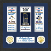 "Los Angeles Dodgers 2017 NL Champions ""Road to the World Series"" Photo Mint"
