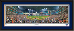 Houston Astros Opening Day at Minute Maid Park Double Matted Black Frame