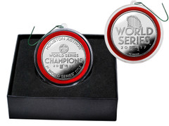 Houston Astros 2017 World Series Champions Silver Mint Coin Ornament