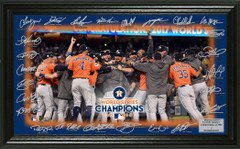 "Houston Astros 2017 World Series Champions ""Celebration"" Signature Field"