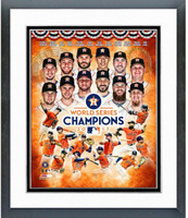 2017 World Series Champs Houston Astros Framed Compostition