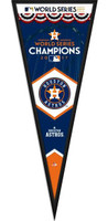Houston Astros 2017 World Series Framed Pennant Graphic