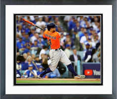 George Springer Home Run in Game 7 Framed Print