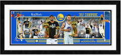 2017 NBA Champions Golden State Warriors Framed Composition