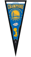 Golden State Warriors 2107 NBA Finals Championship Pennant Frame