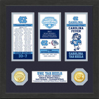 University of North Carolina 2017 NCAA Men's Basketball National Champions Ticket Collection