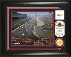 "Indianapolis 500 ""100th Running"" Bronze Coin Photo Mint"