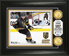 James Neal Bronze Coin Photo Mint