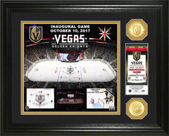 "Vegas Golden Knights ""Inaugural Game"" Bronze Coin Photo Mint"