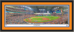 2017 World Series Houston Astros First Pitch in Game 3 Framed Picture Double Matted Black Frame