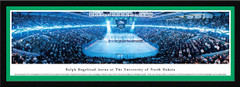 North Dakota Hockey Anthem Framed  Panoramic Picture