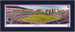 Atlanta Braves 1st Pitch at Sun Trust Stadium Framed Panoramic Picture Double Matting and Black Frame