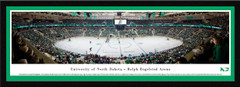 North Dakota Fighting Hawks Hockey - Ralph Engelstad Arena Framed Panoramic Picture