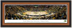 North Dakota State Bison Basketball NDSU SCHEELS Center Framed Panoramic Picture