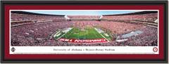 Alabama Crimson Tide Football Bryant-Denny Stadium Framed Panoramic Picture