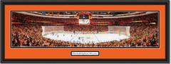 Philadelphia Flyers Wells Fargo Center Framed Panoramic Picture