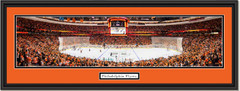 Philadelphia Flyers Wells Fargo Center Framed Panoramic Picture